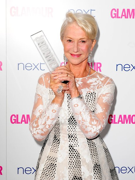 Helen Mirren at the Glamour Women Of The Year Awar