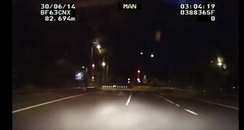 Meteor over M42