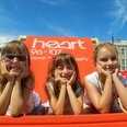 The Heart Angels took their giant deckchair to sun