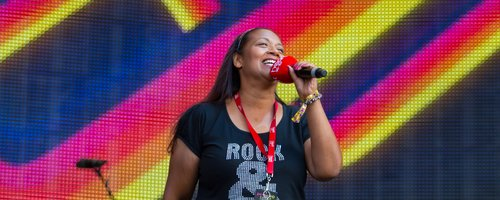 Michelle Jordan at Rewind Festival