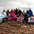 Natasha Lambert completes sea and summit challenge