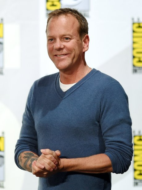 Keifer Sutherland at Comic Con