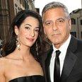 Clooney and fiancee Amal Alamuddin