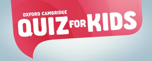 Oxford Cambridge Quiz for Kids