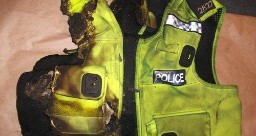 Hampshire Bravery Awards Romsey arson armour