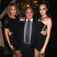 Beyonce, Cara Delevingne and Phillip Green
