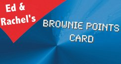 brownie points card