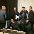 Michael Buble and his band