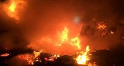 Wood Recycling Centre fire