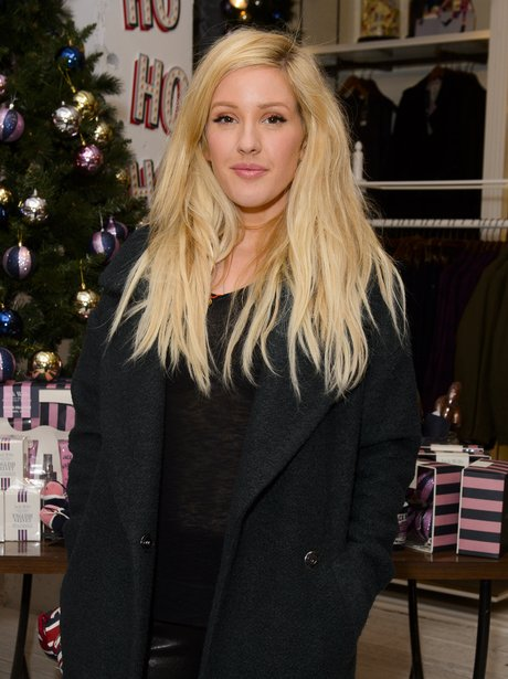 Ellie Goulding at Jack Wills Christmas Preview