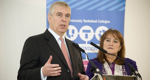 Duke of York opens UTC Swindon