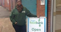 Patricia White Birmingham Central Foodbank