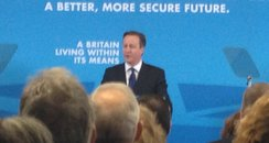 David Cameron speech in Nottingham