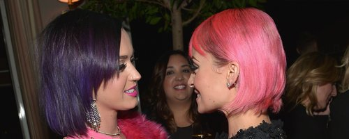 Katy Perry and Nicole Richie