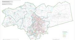 Map Peterborough boundary