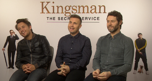 Take That - Kingsman Junket