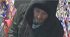 Robbery petrol station Edinburgh