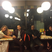 19. Roughin' it? Kanye West and John Legend double date at the 'Waffle House'.