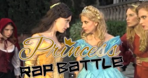 Sarah Michelle Gellar Princess Rap Battle