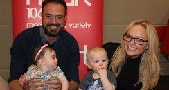 Jamie and emma baby racing 2015