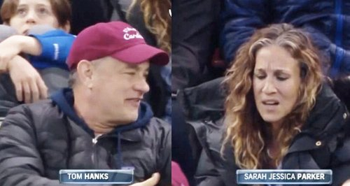 Tom Hanks and Sarah Jessica Parker Vine
