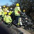 A1 crash in Peterborough 2