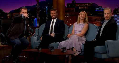David Beckham Late Late Show James Corden