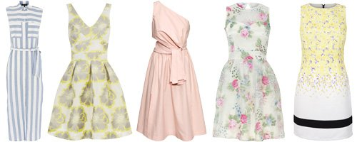 Spring dresses canvas light