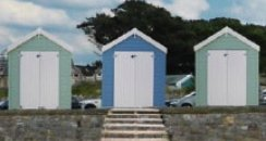 Weston beach hut