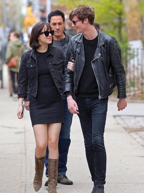 Dakota Johnson and Boyfriend Matthew