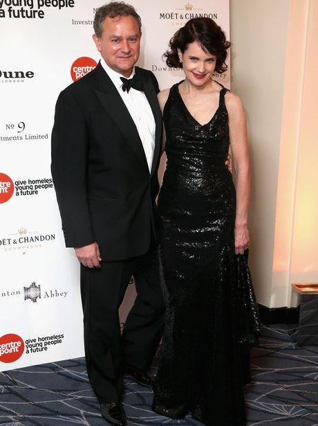 Elizabeth McGovern and Hugh Bonneville