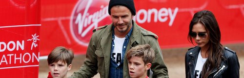 The Beckhams London Marathon
