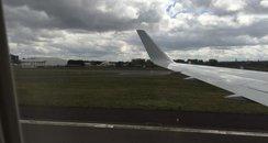 Glasgow airport emergency landing