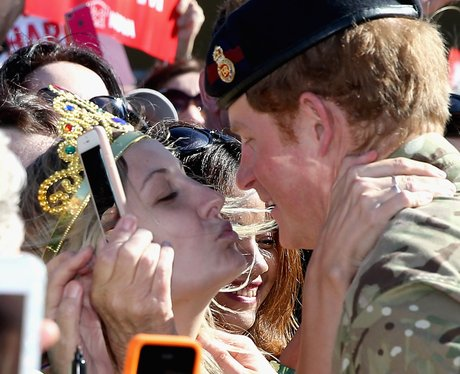 Prince Harry in Sydney Kiss