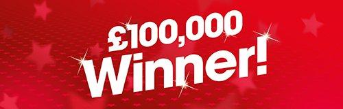 500 x 160 Heart's 100 Happy Days Winner