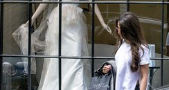 Michelle Keegan wedding shopping