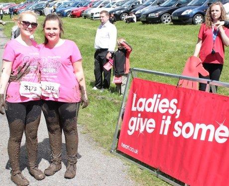 Race For Life Pretty Muddy - cheer zone!