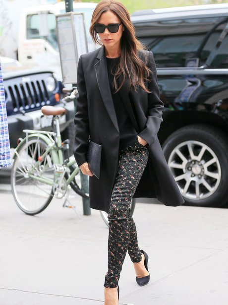 Victoria Beckham out in NYC