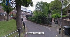 street view of stabbing location