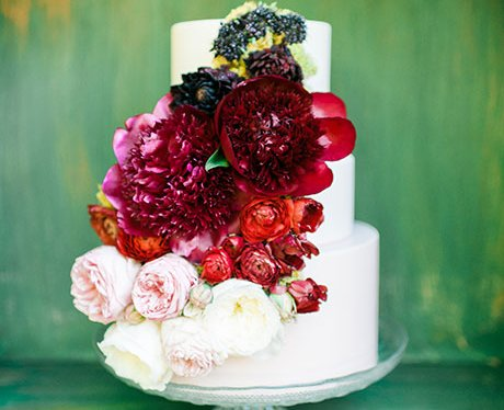 Earth and Sugar wedding cake