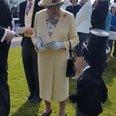 Queen Elizabeth Boy Handshake