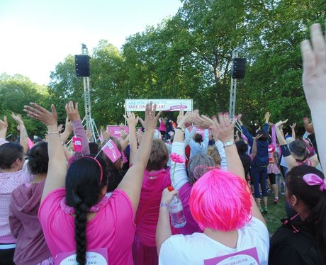 Race for Life in Battersea Park