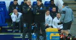 Steve stone and john carver newcastle united