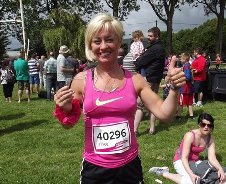 Race For Life Cwmbran 2015: The Medals