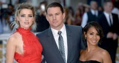 Amber Heard, Channing Tatum and Jada Pickett Smith