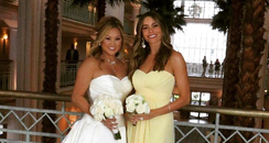 Sofia Vergara bridesmaid