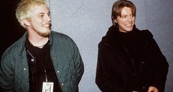 David Bowie and son Duncan