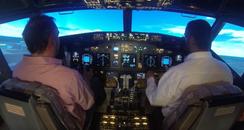Kev In Flight Simulator