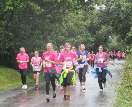 Truro Race For Life 2015 Cheer Point