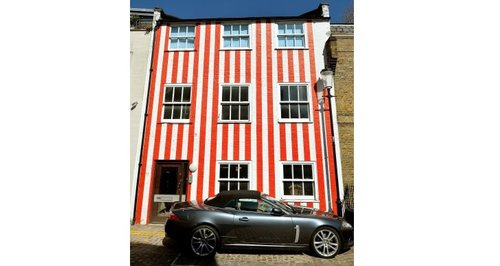Striped Townhouse